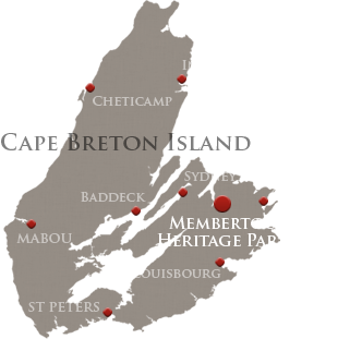 Visitor Information map